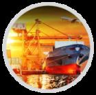 Logística de embarques de importación y exportación para todo tipo de carga, hacia y desde cualquier puerto del mundo, además de brindarle el servicio integral incluyendo maniobras, trámites aduanales, documentación, recolección y aseguramiento de la mercancía.